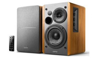 best powered wireless bookshelf speakers, best active bookshelf speakers audiophile,
