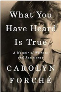 poetry of Carolyn Forche, Carolyn Forche poems, list of Carolyn Forche books,